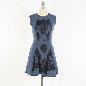 M Missoni Sweater Scuba Knit Fit & Flare Dress